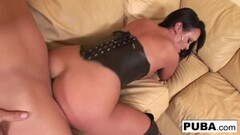 Naughty Honey West Dry Humping Turns Into Fucking Thumb
