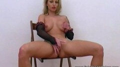Naughty Cute Evelyne Foxy has a perfect pussy for hard fucking! Thumb