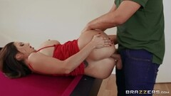 naughty german big tits brunette amateur milf creampie pov Thumb