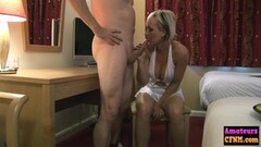 Strip Club blonde lesbians Nicole and Puma Thumb
