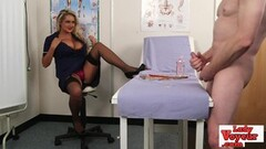 Hot naughty makes cfnm loser jerk off Thumb