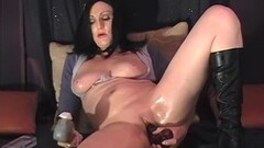 Kinky First time amateur MILF masturbating with toys Thumb