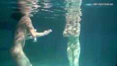Siskina and Polcharova are hot underwater gymnasts Thumb