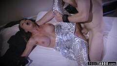 Wild lesbian sex in a hot sauna Thumb