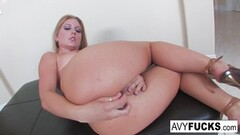 Naughty Avy strips off a sexy dress Thumb