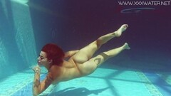 Canadian big tits underwater naked Thumb