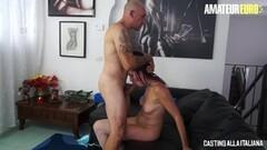 LETSDOEIT - Squirting Italian Newbie Loves Rough Anal Fuck Thumb