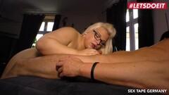 LETSDOEIT - German Couple Fuck on the Sofa Thumb