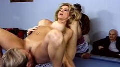 Kinky Closeup Swinger Trashy Blonde MILF Thumb