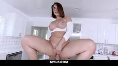 MYLF - Big Ass Milf Gets Hard Rough Fucking Thumb