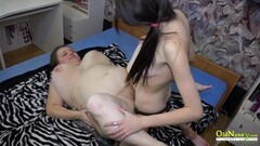 Hot Teen and Mature Lesbian Toying Action Thumb