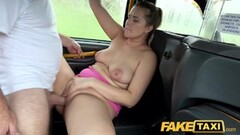 Fake Taxi Backseat fucking with blonde Czech Thumb
