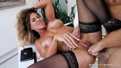 Big titted MILF in a 3-some - Pt. 1/4 Thumb