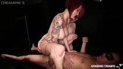 Skinny lesbo gets pussy fisted to orgasm Thumb