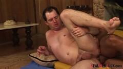 GERMAN BIG TITS MILF JENNY SEDUCE 18yr old YOUNG GUY TO FUCK Thumb