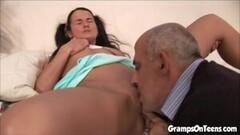 Trying to deep throat a big black cock  pt 1/3 Thumb