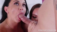 Brett Rossi and Cadence Lux pussy play after massage Thumb