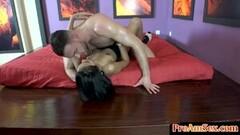 Busty Dana licks her roomates wet pussy Thumb