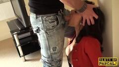 Hot Latina fucks the sex machine Thumb