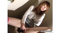 Milf Riding A Dildo With Her Creamy Pussy For Her BF Thumb