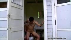 Girl fucking a male stripper in a club Thumb