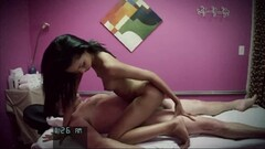 Sloppy blonde gets hairy beaver pumped Thumb