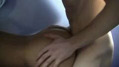 Sexy Tattooed Redhead Wet Catsuit Shower Thumb