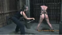 BBC Babe London River Wants Deep DP Thumb