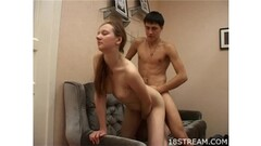 Frisky Blonde Peels Off Panties in Masturbation Masterclass Thumb