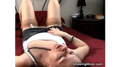 Frisky Hot Underwater Babe Lady Dee Swims Naked Thumb