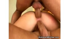 Naughty Japanese nurse, Reina Wamatsu rubs dick, uncensored Thumb