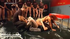 Naughty Gagged and Bound Milf Thumb
