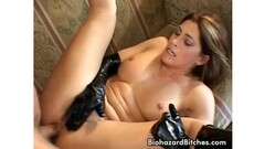 AmateurEuro - Kinky Granny Mia Wallace Fucked In Nature Thumb