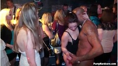Pretty Brunette Blowjob And Cumshot At Gloryhole Thumb