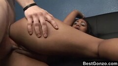 Big pussy lets big cock in, but happy ending is in her mouth Thumb