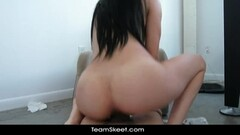 German milf Kristine Von Saar lowers her panties Thumb