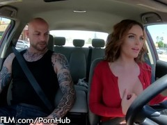 DevilsFilm Krissy Lynn Offers Ride Shares on Boober! Thumb