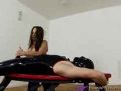 Femdom Handjob video from Mistress Angelina Thumb
