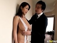 AzHotPorn.com - Ultra Big Breasts Busty Asian Gal Thumb
