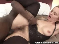 Hot Granny Interracial Sex Thumb