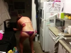 two of my girls drunk dancing showing ass party mode Thumb