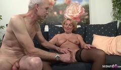 Grandma and Grandpa at Porn Casting because need Cash German Thumb