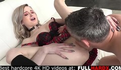 Cute chick Lexi Lore ass fucked by huge cock Thumb