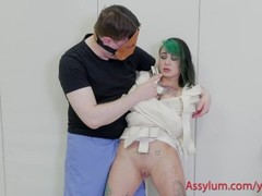 Teen emo girl punished and exploited by sicko psychiatrist Thumb