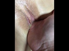 Fuck to orgasm wet hairy pussy 4K POV Thumb