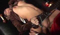 Bubble Butt Teen Takes a Huge Cock and Get Pussy Creampied Thumb