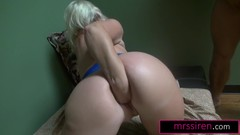 Texas Gangbang and Self-Fisting MILF Dee Siren Pleasures Her Neighbors Thumb