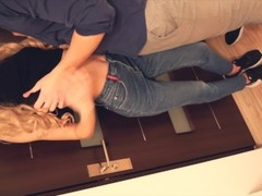 Amateur Fit Teen Has A Quick Fuck in Tight Jeans 4K Thumb