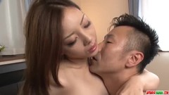 Maki Mizusawa sure loves holding the cock in her - More at Japanesemamas.com Thumb