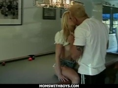 MomsWithBoys - Young MILF Teacher Having Sex With The PE Instructor Thumb